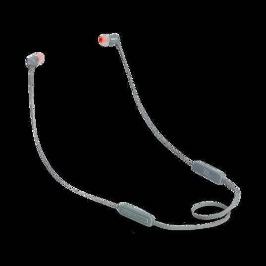 JBL TUNE 110BT - Grey - Wireless in-ear headphones - Hero
