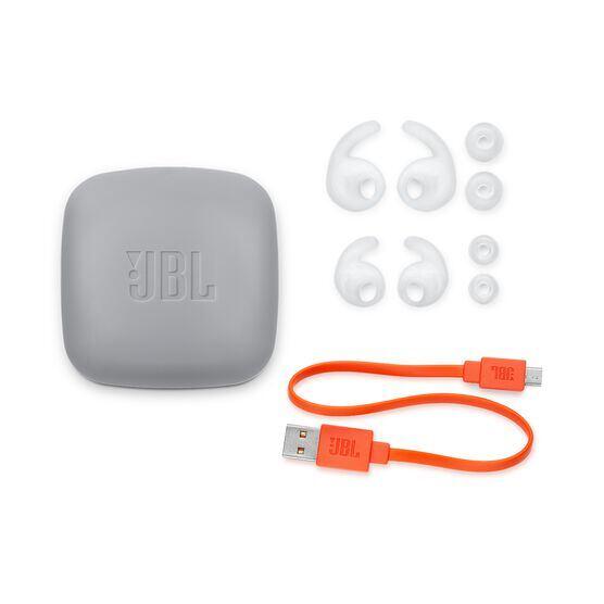 JBL Reflect Contour 2 - White - Secure fit Wireless Sport Headphones - Detailshot 3