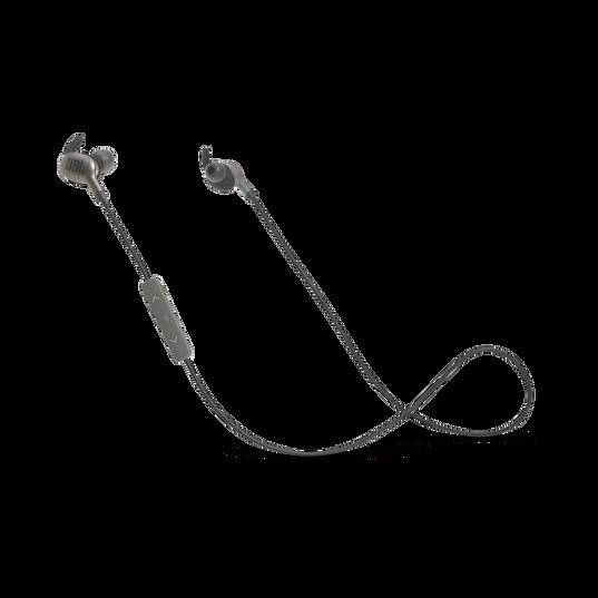 JBL EVEREST™ 110 - Gun Metal - Wireless In-ear headphones - Hero