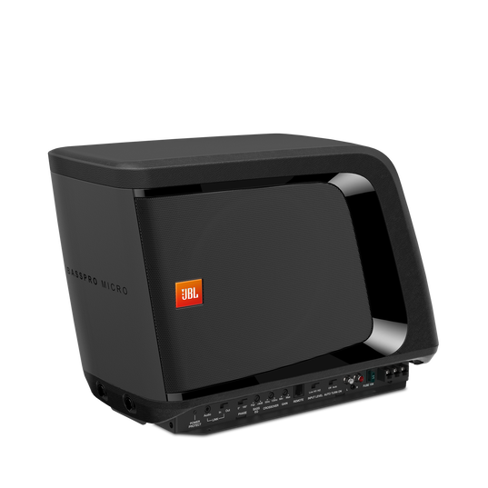 JBL BassPro Micro - Black - JBL BassPro Micro Dockable Powered Subwoofer System - Detailshot 1
