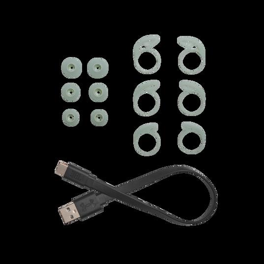 UA True Wireless Streak - Teal - Ultra-compact In-Ear Sport Headphones - Detailshot 8