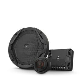 "GX600C - Black - 6-1/2"" car audio component speaker system, 210W - Hero"