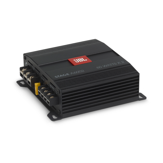 JBL Stage Amplifier A6002 - Black - Class D Car Audio Amplifier - Detailshot 2