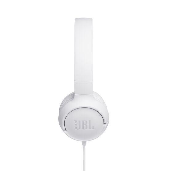 JBL TUNE 500 - White - Wired on-ear headphones - Detailshot 2