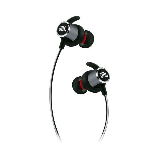 JBL REFLECT MINI 2 - Black - Lightweight Wireless Sport Headphones - Detailshot 2