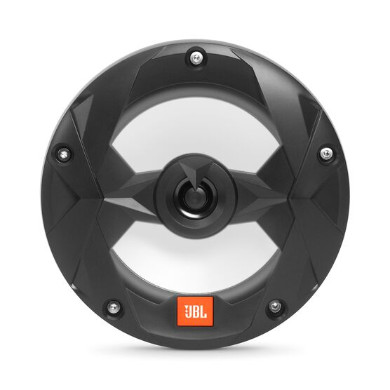 "Club Marine MS65LB - Black Matte - Club Marine MS65LB—6-1/2"" (160mm) two-way marine audio multi-element speaker with RGB lighting – Black - Front"