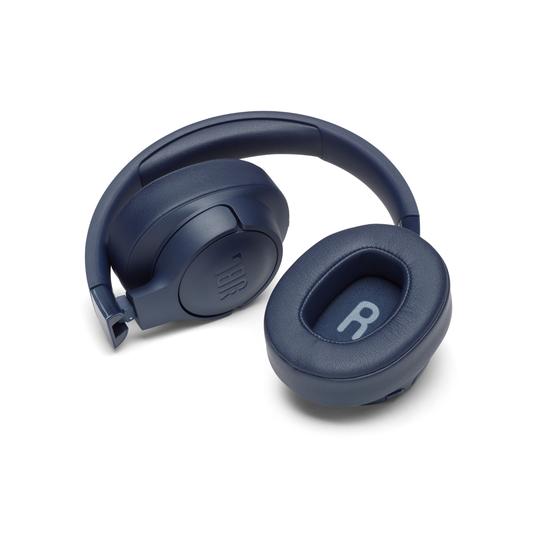 JBL TUNE 750BTNC - Blue - Wireless Over-Ear ANC Headphones - Detailshot 3