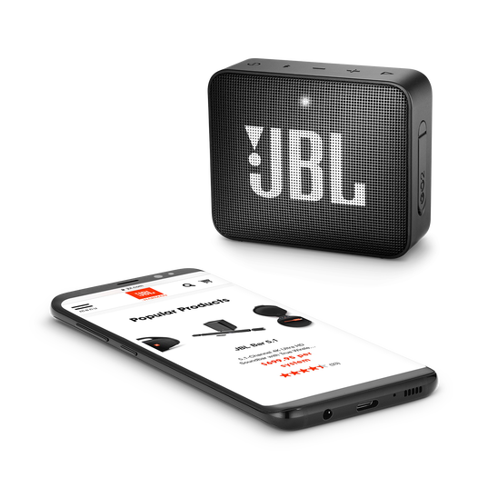 JBL GO 2 - Midnight Black - Portable Bluetooth speaker - Detailshot 3