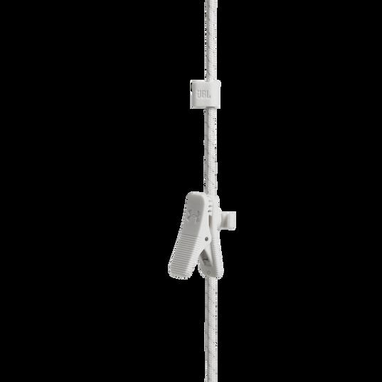 UA Sport Wireless PIVOT - White - Secure-fitting wireless sport earphones with JBL technology and sound - Detailshot 2