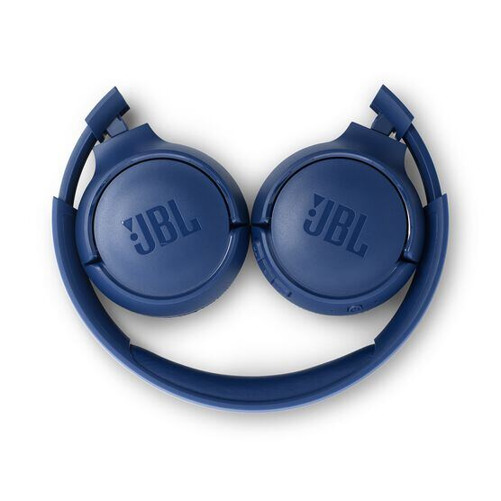 JBL TUNE 500BT - Blue - Wireless on-ear headphones - Detailshot 2