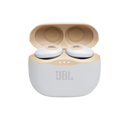 JBL Tune 125TWS - Gold - True wireless in-ear headphones - Detailshot 3