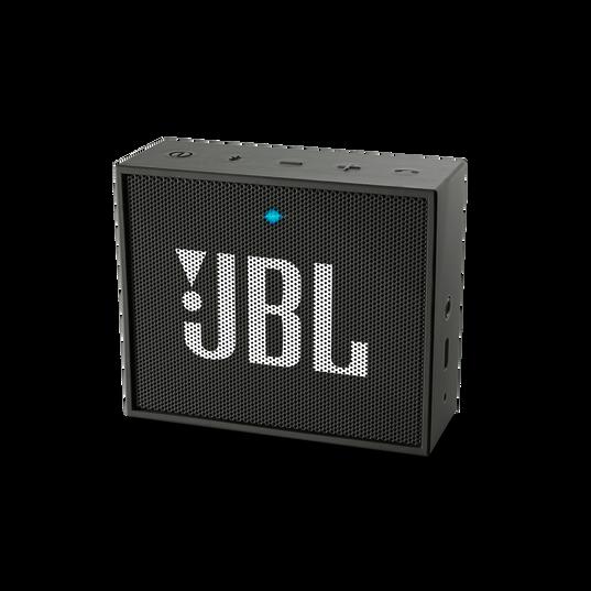 JBL GO - Black - Full-featured, great-sounding, great-value portable speaker - Hero