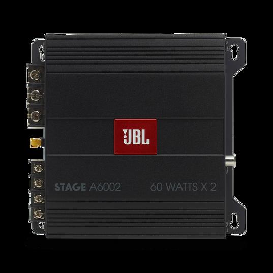 JBL Stage Amplifier A6002 - Black - Class D Car Audio Amplifier - Front