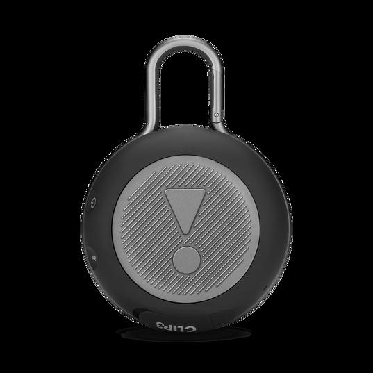 JBL CLIP 3 - Midnight Black - Portable Bluetooth® speaker - Back