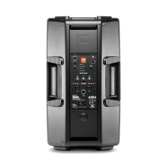 "JBL EON612 - Black - 12"" Two-Way Multipurpose Self-Powered Sound Reinforcement - Back"