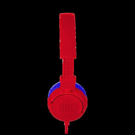 JBL JR300 - Spider Red - Kids on-ear Headphones - Detailshot 2