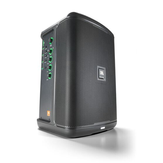 JBL EON ONE Compact - Black - All-in-One Rechargeable Personal PA - Hero