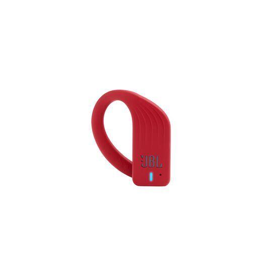 JBL Endurance PEAK - Red - Waterproof True Wireless In-Ear Sport Headphones - Detailshot 2