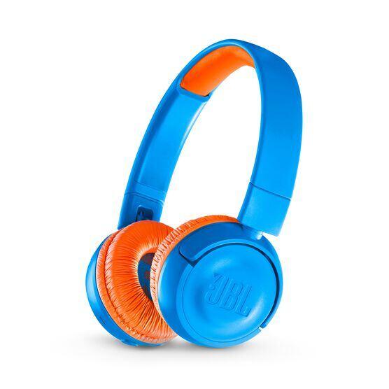 JBL JR300BT - Rocker Blue - Kids Wireless on-ear headphones - Hero