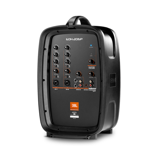 """JBL EON206P - Black - Portable 6.5"""" Two-Way system with detachable powered mixer - Detailshot 6"""