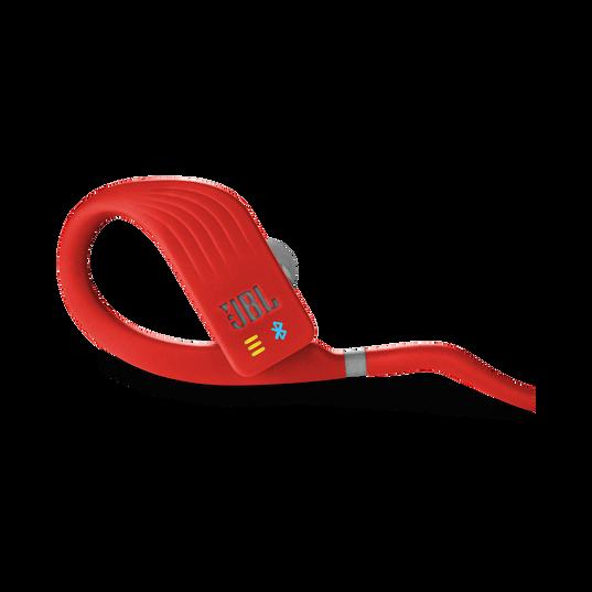 JBL Endurance DIVE - Red - Waterproof Wireless In-Ear Sport Headphones with MP3 Player - Detailshot 2
