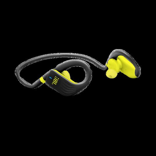 JBL Endurance JUMP - Yellow - Waterproof Wireless Sport In-Ear Headphones - Detailshot 1