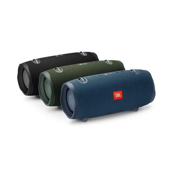 JBL Xtreme 2 - Forest Green - Portable Bluetooth Speaker - Detailshot 3