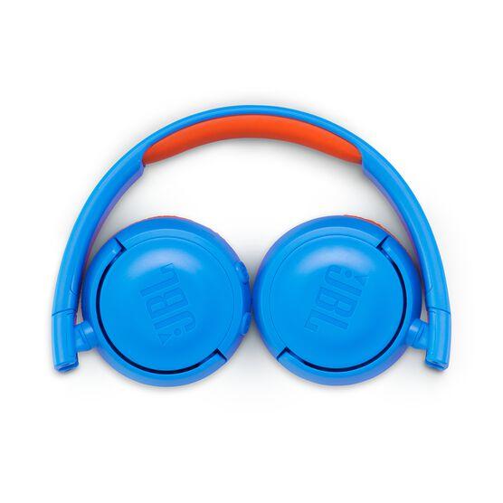 JBL JR300BT - Rocker Blue - Kids Wireless on-ear headphones - Detailshot 3