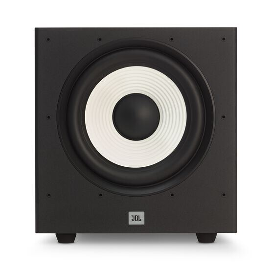 JBL Stage A100P - Black - Home Audio Loudspeaker System - Front