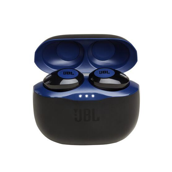 JBL TUNE 120TWS - Blue - Truly wireless in-ear headphones. - Hero