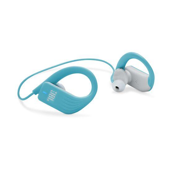 JBL Endurance SPRINT - Teal - Waterproof Wireless In-Ear Sport Headphones - Detailshot 1