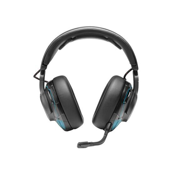 JBL Quantum ONE - Black - USB wired PC over-ear professional gaming headset with head-tracking enhanced JBL QuantumSPHERE 360 - Front