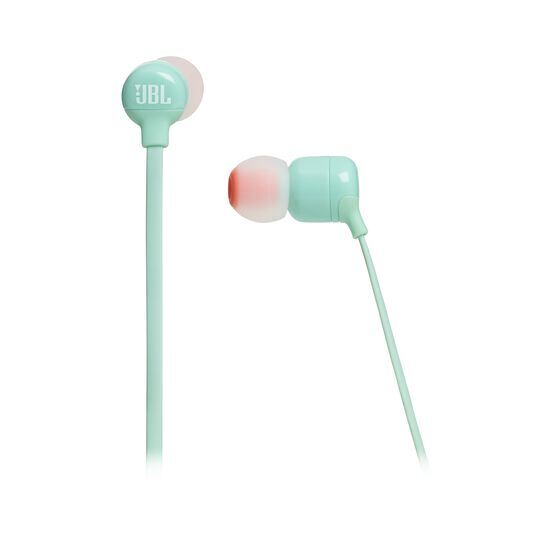 JBL TUNE 110BT - Green - Wireless in-ear headphones - Detailshot 3