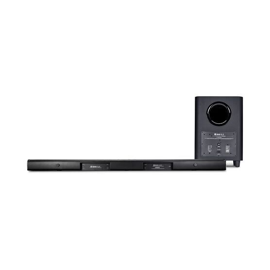 JBL Bar 3.1 - Black - 3.1-Channel 4K Ultra HD Soundbar with Wireless Subwoofer - Back