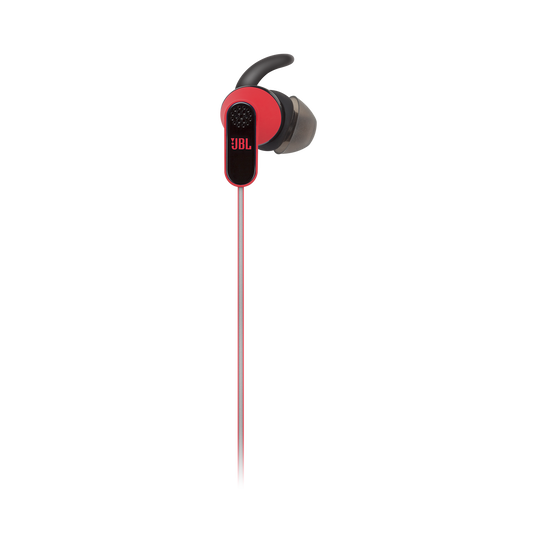Reflect Aware - Red - Lightning connector sport earphone with Noise Cancellation and Adaptive Noise Control. - Detailshot 2