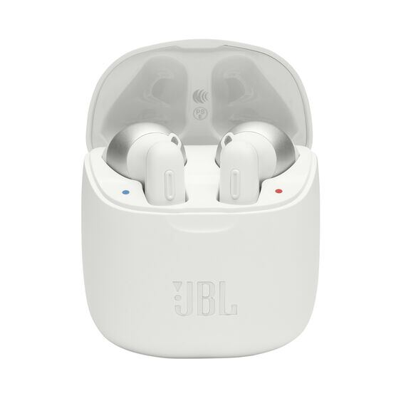 JBL TUNE 220TWS - White - True wireless earbuds - Hero