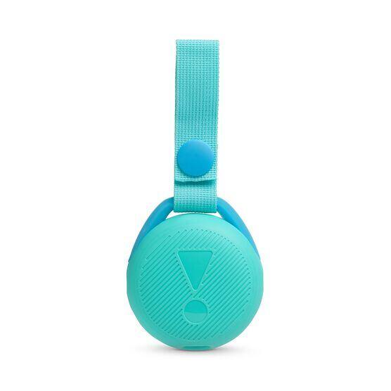JBL JR POP - Aqua Teal - Portable speaker for kids - Back