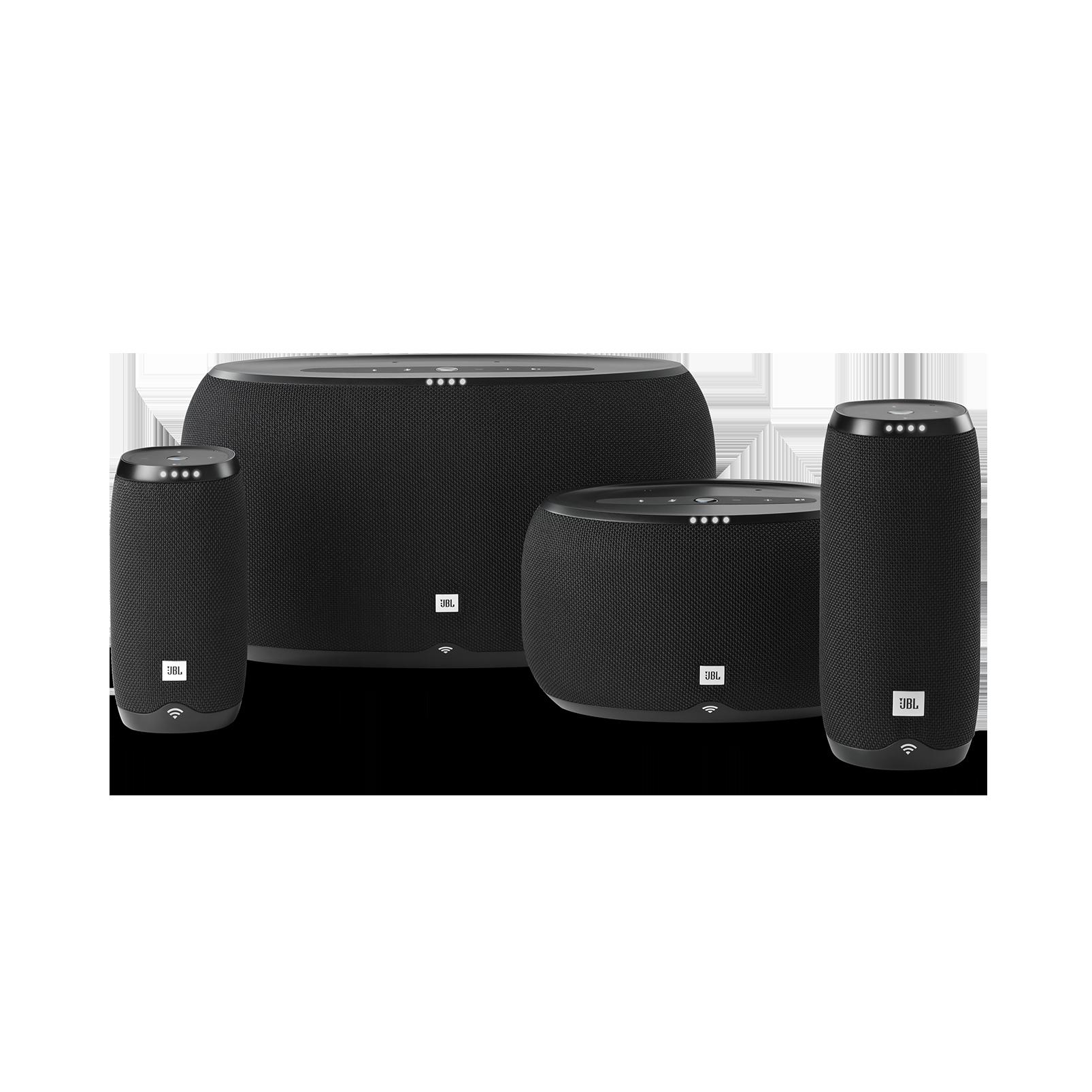 JBL Link 500 - Black - Voice-activated speaker - Detailshot 2