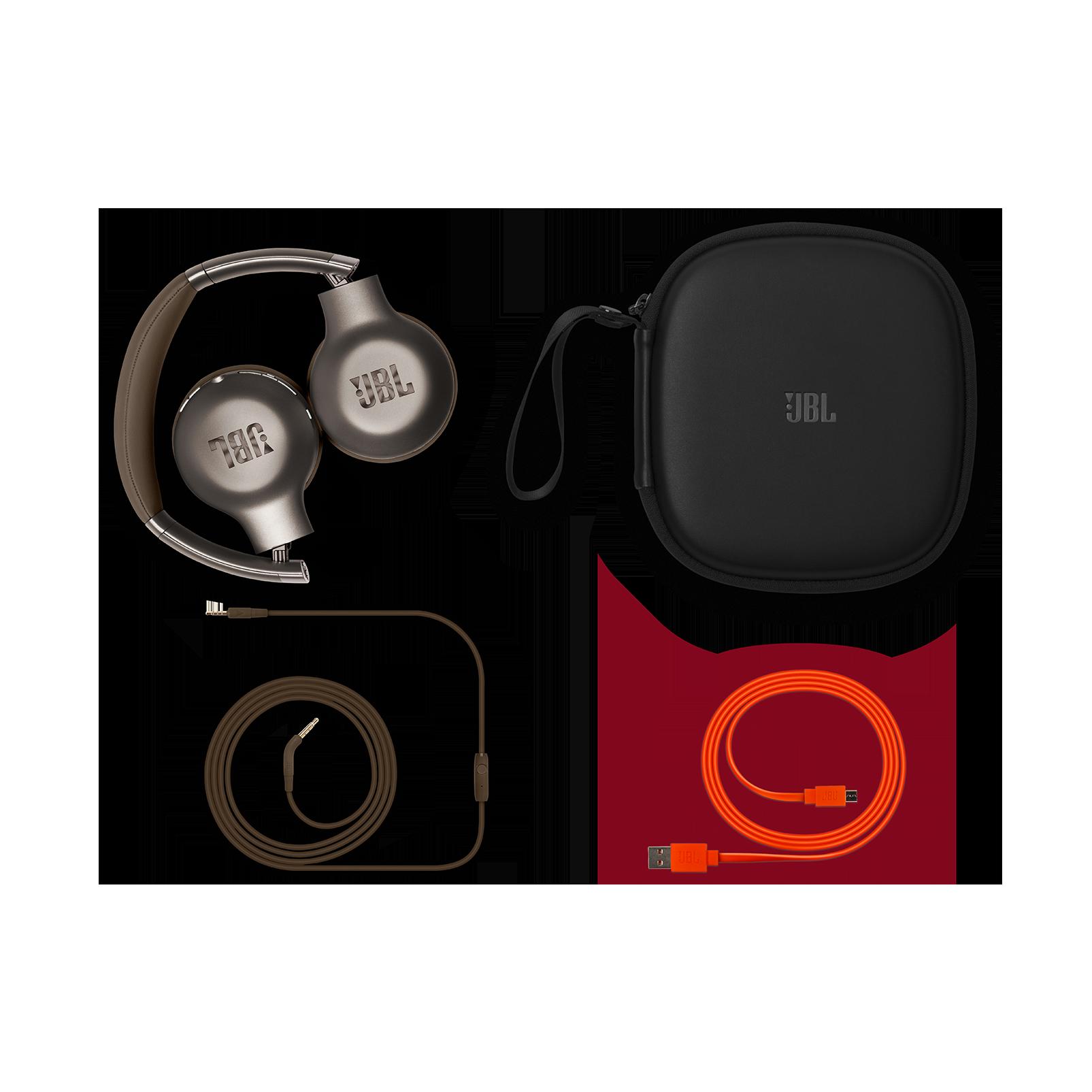 EVEREST™ 310GA - Brown - Wireless on-ear headphones - Detailshot 3
