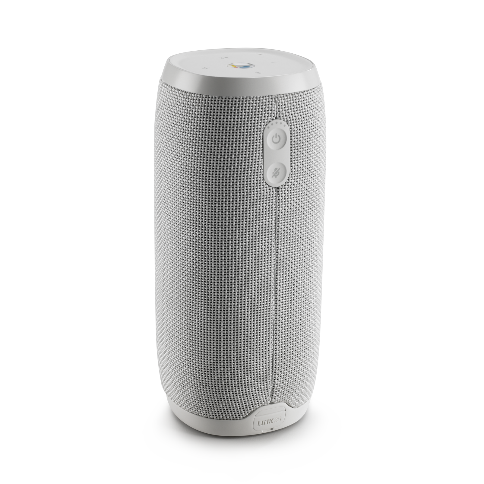 JBL Link 20 - White - Voice-activated portable speaker - Back