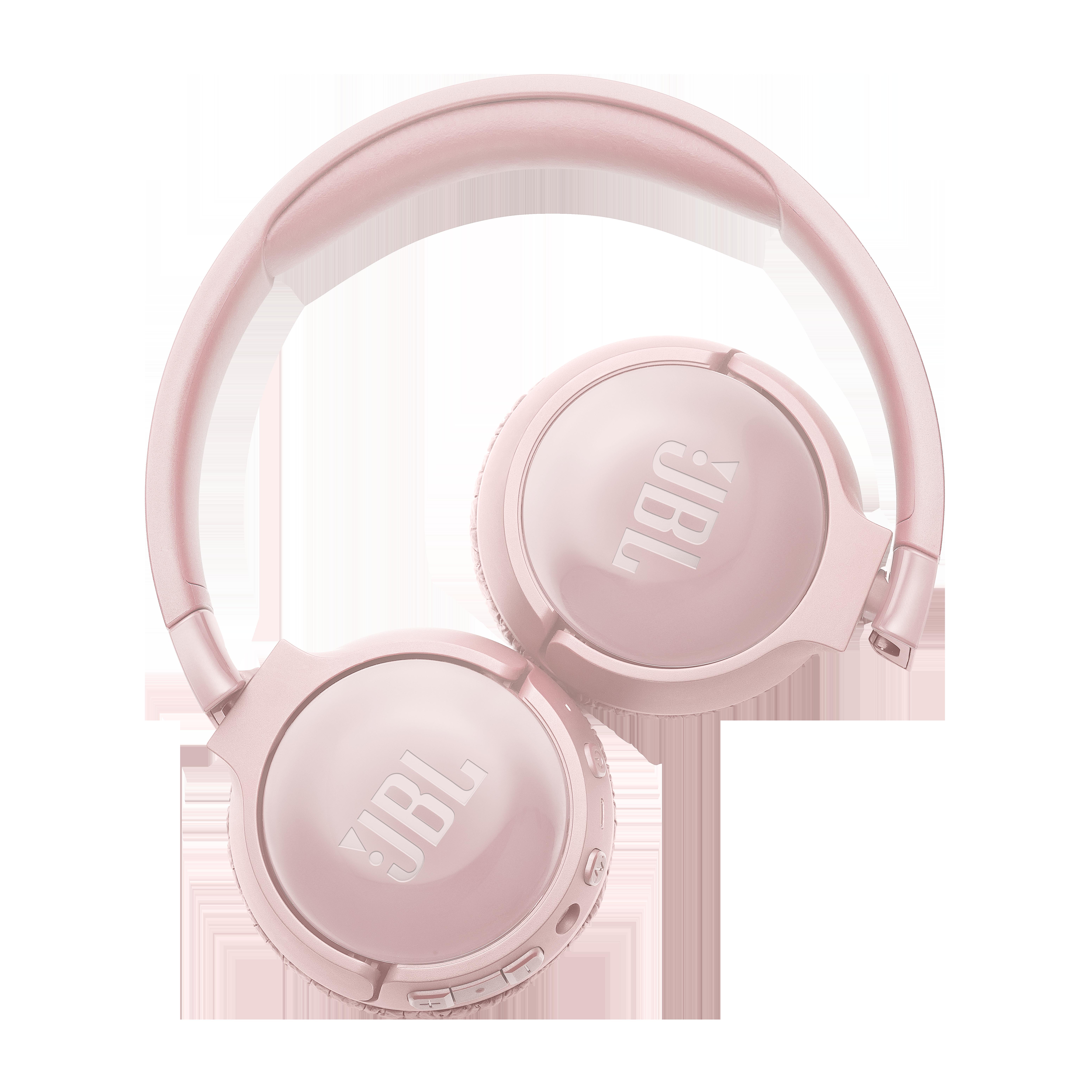 JBL TUNE 600BTNC - Pink - Wireless, on-ear, active noise-cancelling headphones. - Detailshot 4