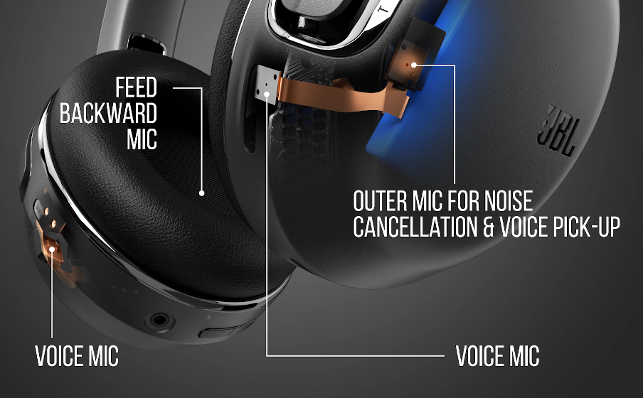 4-mic Technology for Accurate and clear voice call