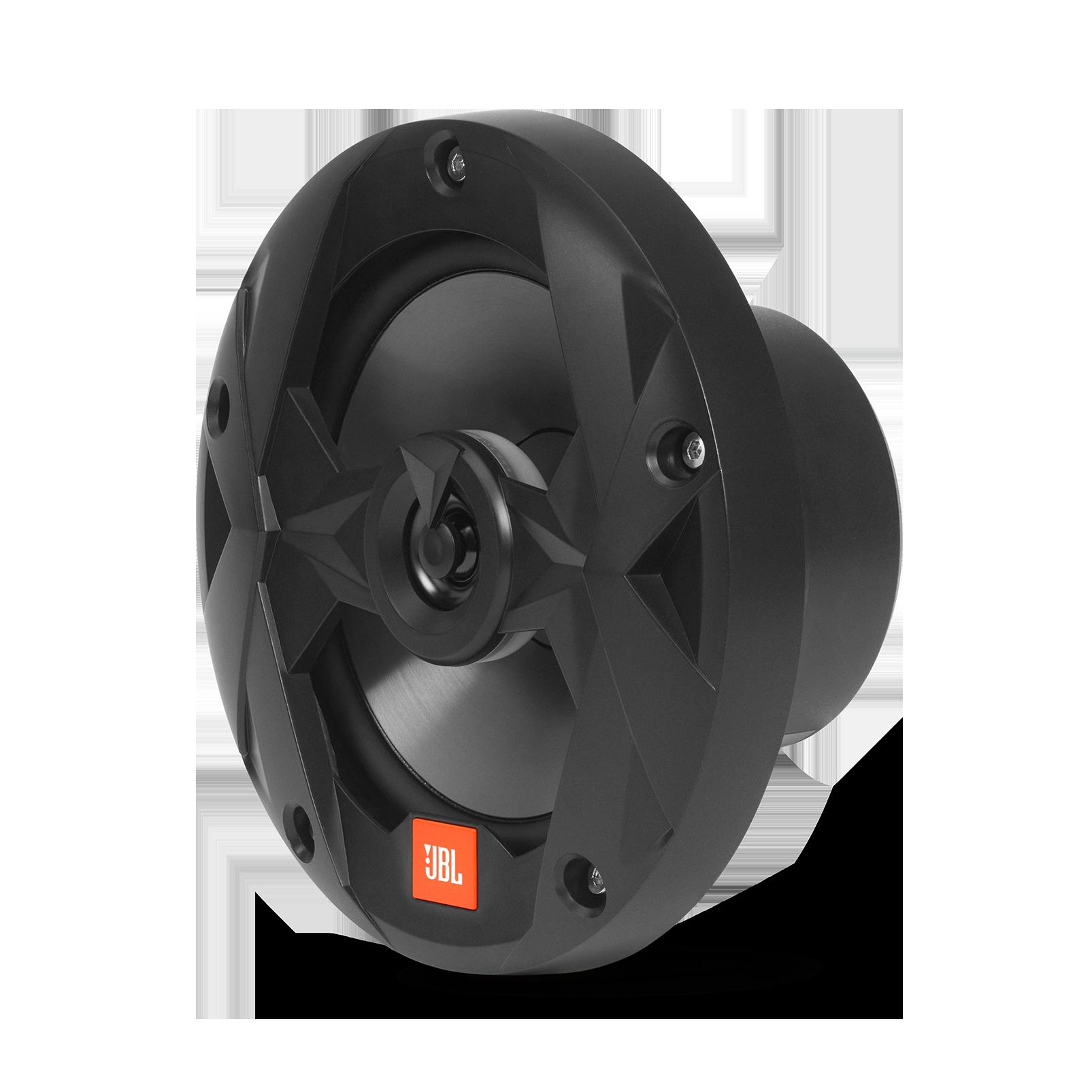 "Club Marine MS65LB - Black Matte - Club Marine MS65LB—6-1/2"" (160mm) two-way marine audio multi-element speaker with RGB lighting – Black - Left"