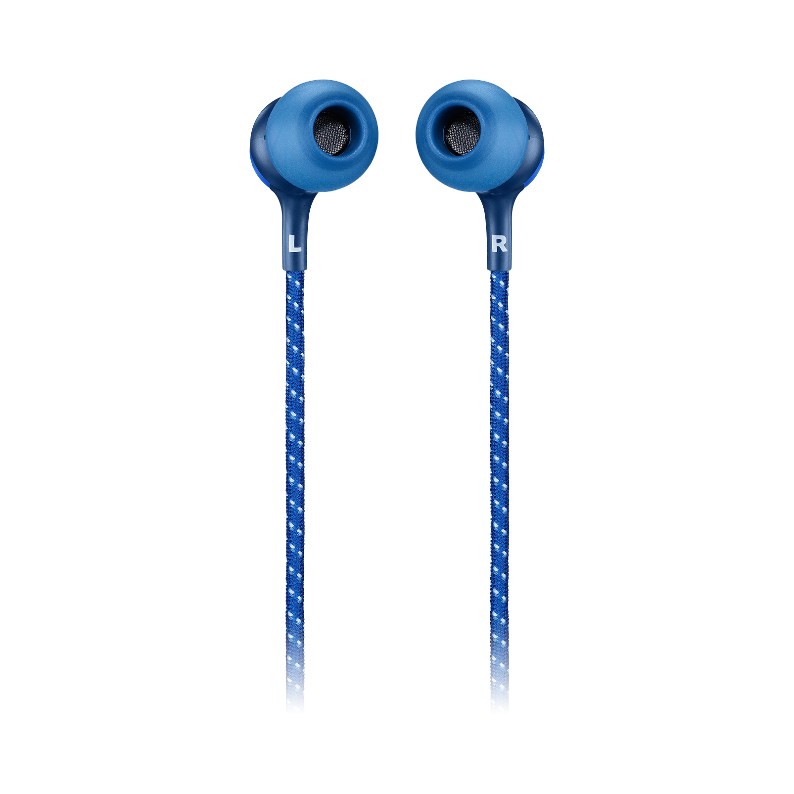 JBL LIVE 200BT - Blue - Wireless in-ear neckband headphones - Back