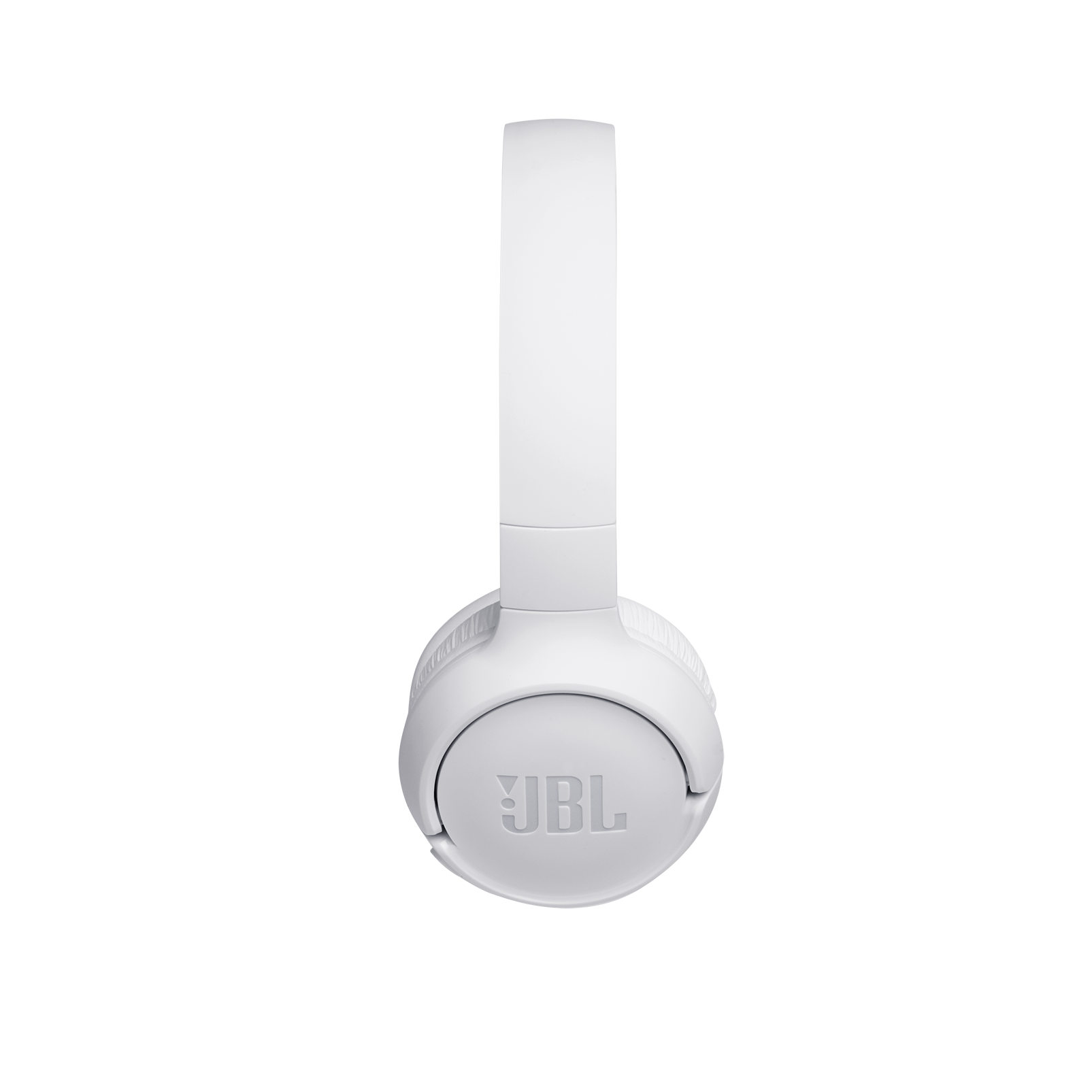 JBL TUNE 500BT - White - Wireless on-ear headphones - Left