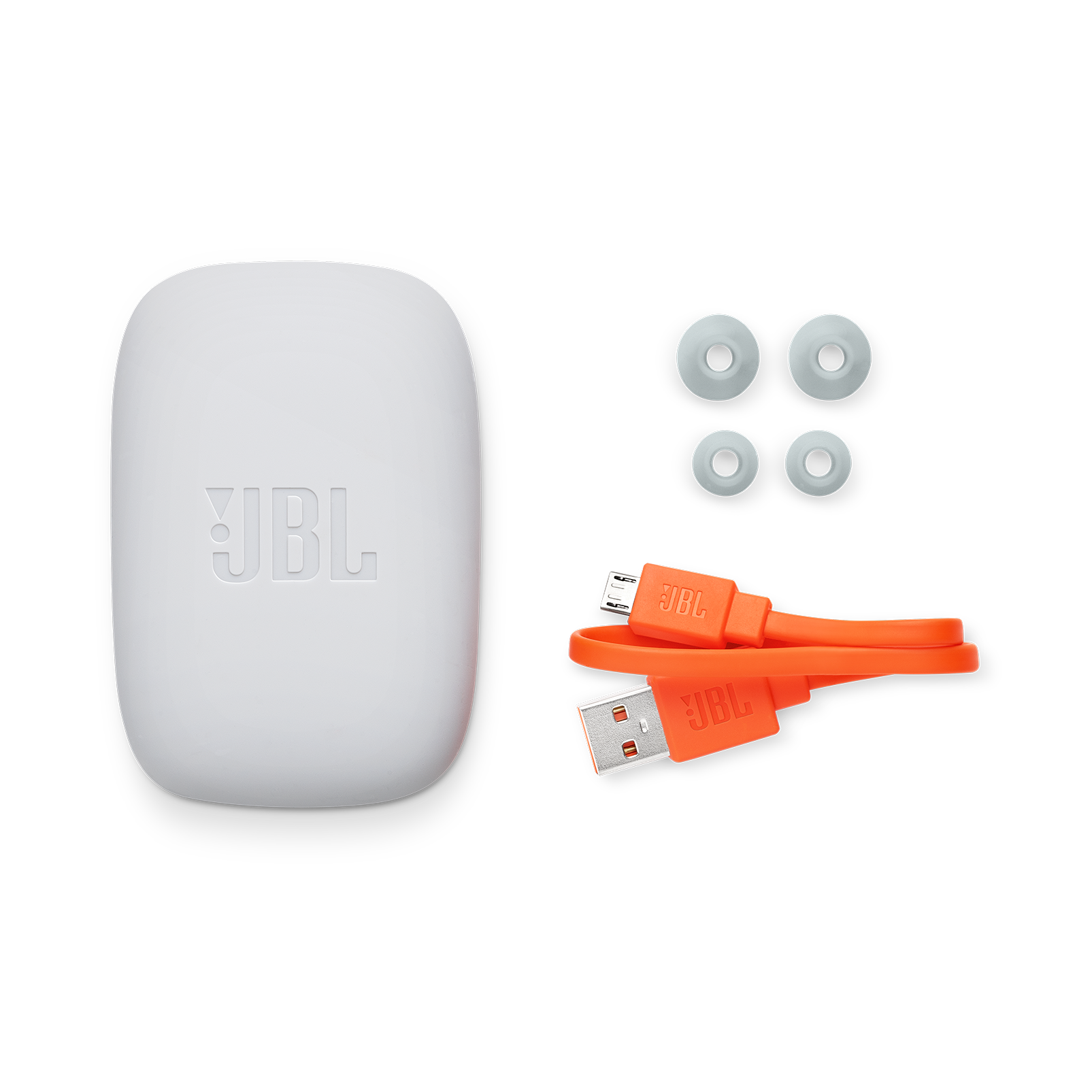 JBL Endurance JUMP - Red - Waterproof Wireless Sport In-Ear Headphones - Detailshot 4
