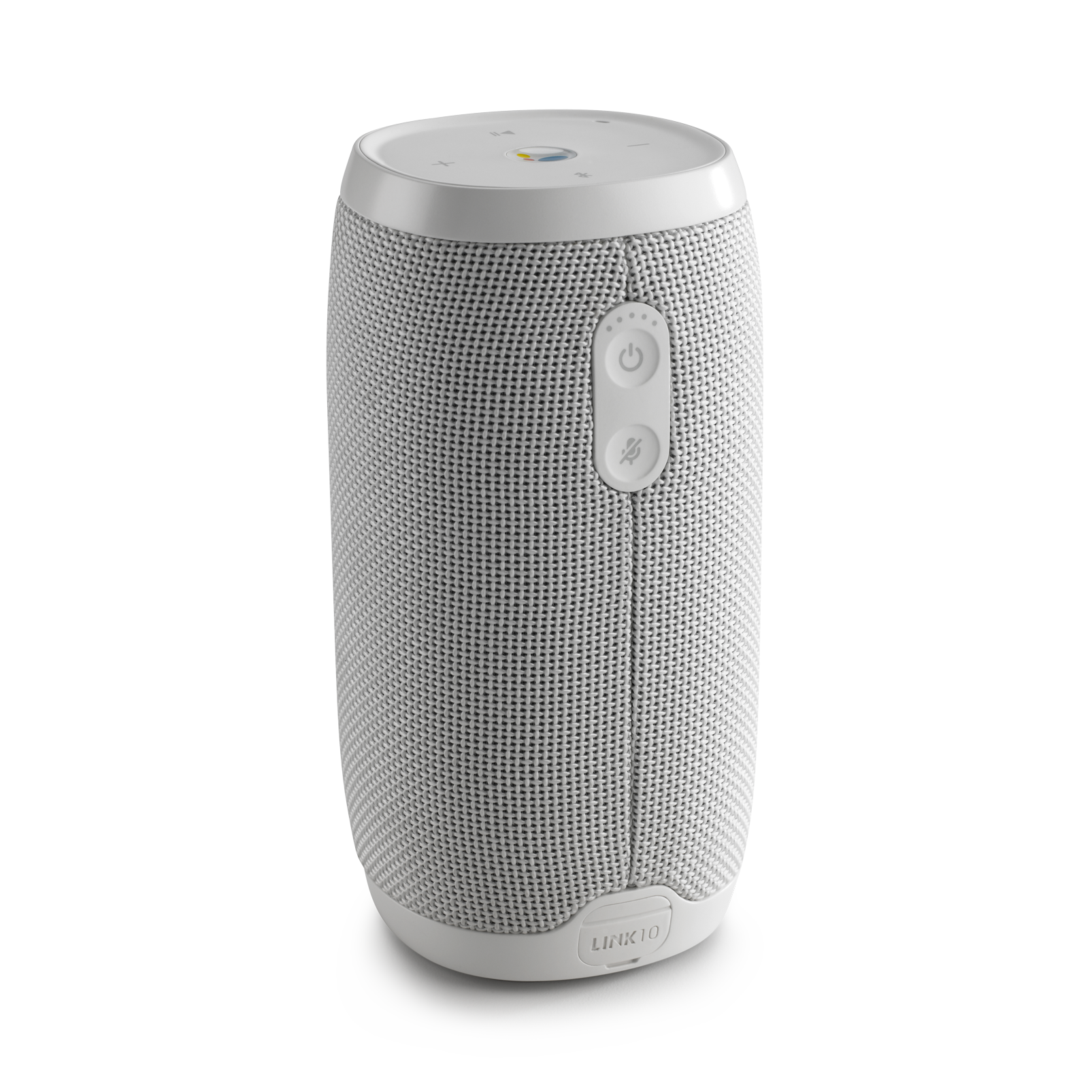 JBL Link 10 - White - Voice-activated portable speaker - Back