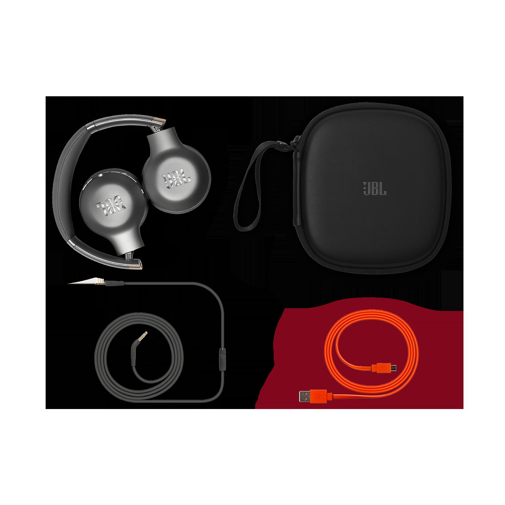 EVEREST™ 310GA - Gun Metal - Wireless on-ear headphones - Detailshot 3