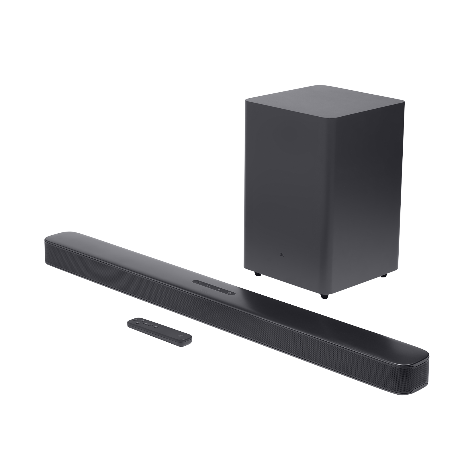 JBL Bar 2.1 Deep Bass - Black - 2.1 channel soundbar with wireless subwoofer - Hero