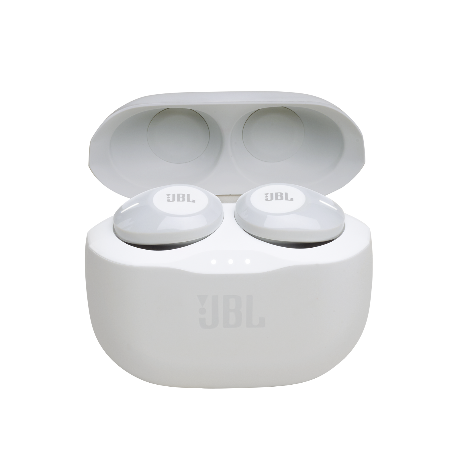 JBL Tune 120TWS - White - True wireless in-ear headphones. - Hero